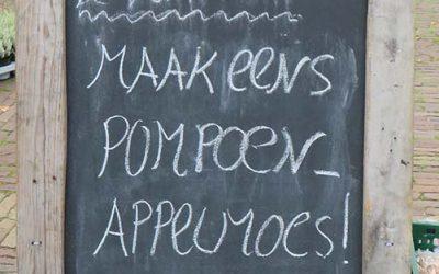 Pompoen appel toetje